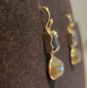 CitybyCity Jewelry - City by City New Genuine Stone Sangle Earrings